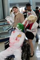 Arkham joker, Harleen Quinzel, and Dr. Crane by SmilexVillainco
