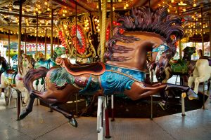 Carousel Horse [STOCK] by C-F-photography