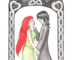 Lily and Severus Snape by Angel-Uriel