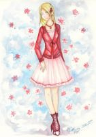 Fashion Design WATERCOLOR by ember-snow