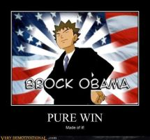 Brock Obama by Espada0Doug