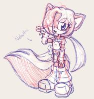 Nebulla new look -sketched by Yolly-anda