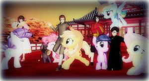 ::+Year of the Horse 2014+:: by Apple-Rings