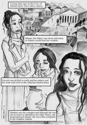 The Story of Medusa pg 2 of 19