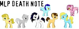 MLP FIM DEATH NOTE by Puffypaw