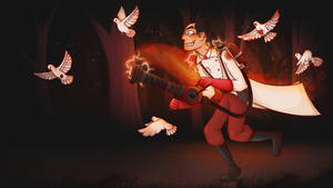 doctor in the woods by Kitty4President