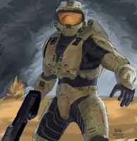 Master Chief 2 by Willatorx