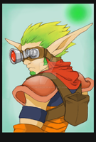 Jak3 without gun by GoreChick