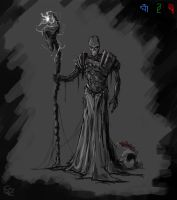 Pious Augustus, the Lich by Halycon450