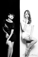 Black And White III by BlackCarrionRose