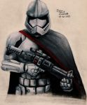 Star Wars VII: The Force Awakens ,Captain Phasma by Masterstar38