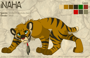 Inaha -ref- by KaiserTiger