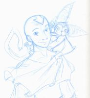 Aang age 25 by betsyillustration