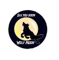 See You Soon Wolf Moon by Caium