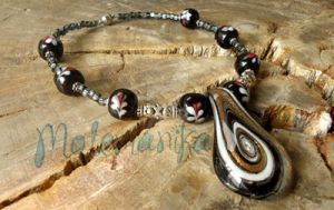 Andromeda Choker 2 by motemanikabeads