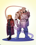 Edward and Alphonse: Redux. by JeffMyles