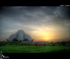 Lotus Temple I... by nimitnigam