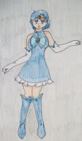 Sailor Mercury with a New Fuku by Punisher2006