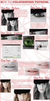 HOW to : COLORIZATION TUTORIAL by melancholiaxbliss