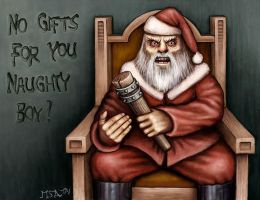 Bad Santa by Astalo