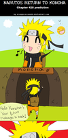 Naruto's Return to Konoha by FancyPancakes