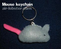 Mouse Keychain by airlobster