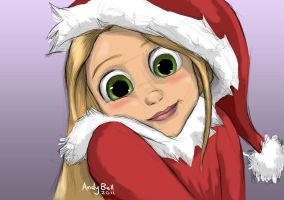 12 Days - Young Rapunzel by ShadowedImages
