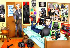 Ben Solo by Hed-ush