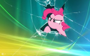Pinkie Pie - Wallpaper Windows by Amoagtasaloquendo