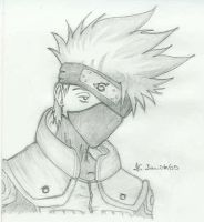 Kakashi__Looking Right by slamduncan2115