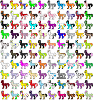 100 Adopts by KolliceKat