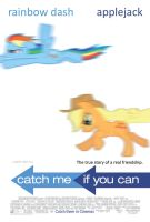 Rainbow Dash and Applejack - Catch Me If You Can by normanb88