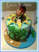 Max's Neverland Pirates Cake by gertygetsgangster