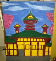 Heart Shrine Painting (WIP) by Pack69Alpha