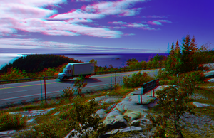 Lake Superior 3-D ::: HDR/Raw Anaglyph Stereoscopy by zour