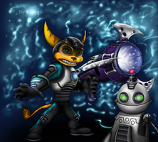Ratchet and Clank by Krovash