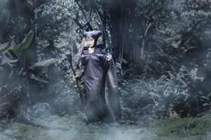 Maleficent - Queen of the Moor by taga-gloria