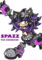 Spazz the Hedgehog by Pendulonium