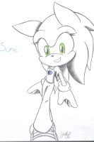 Female Sonic by sonicartist16
