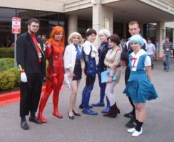 Evangelion Cast by sentinel28a