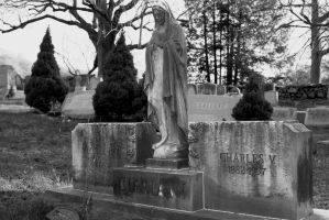 Dual grave, with Mary by wolfphotography