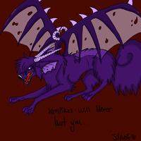 .Vampires will never hurt you. by SilvWolf