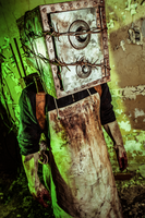 The Keeper (Boxman) costume closeup by Corroder666