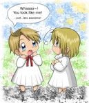 APH - America + Canada kiddies by Endless-Mittens