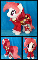 Rosa the Pirate Plushie :Commission: by AppleDew
