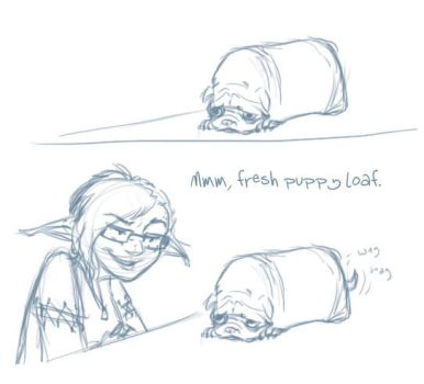The Puppyloaf by In-Tays-Head