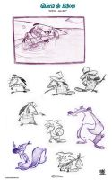 The Angry Beavers sketch Gallery by celaoxxx