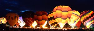 Balloon Glow by erveed