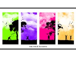 The Four Seasons- Vector Style by pAnAi5