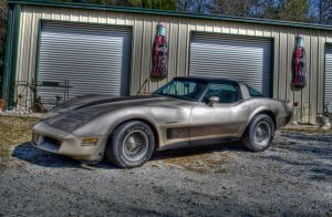 82 or 84 corvette collectors edition by artbylink